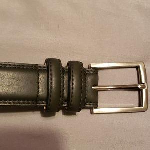 Stacy Adams black men's belt